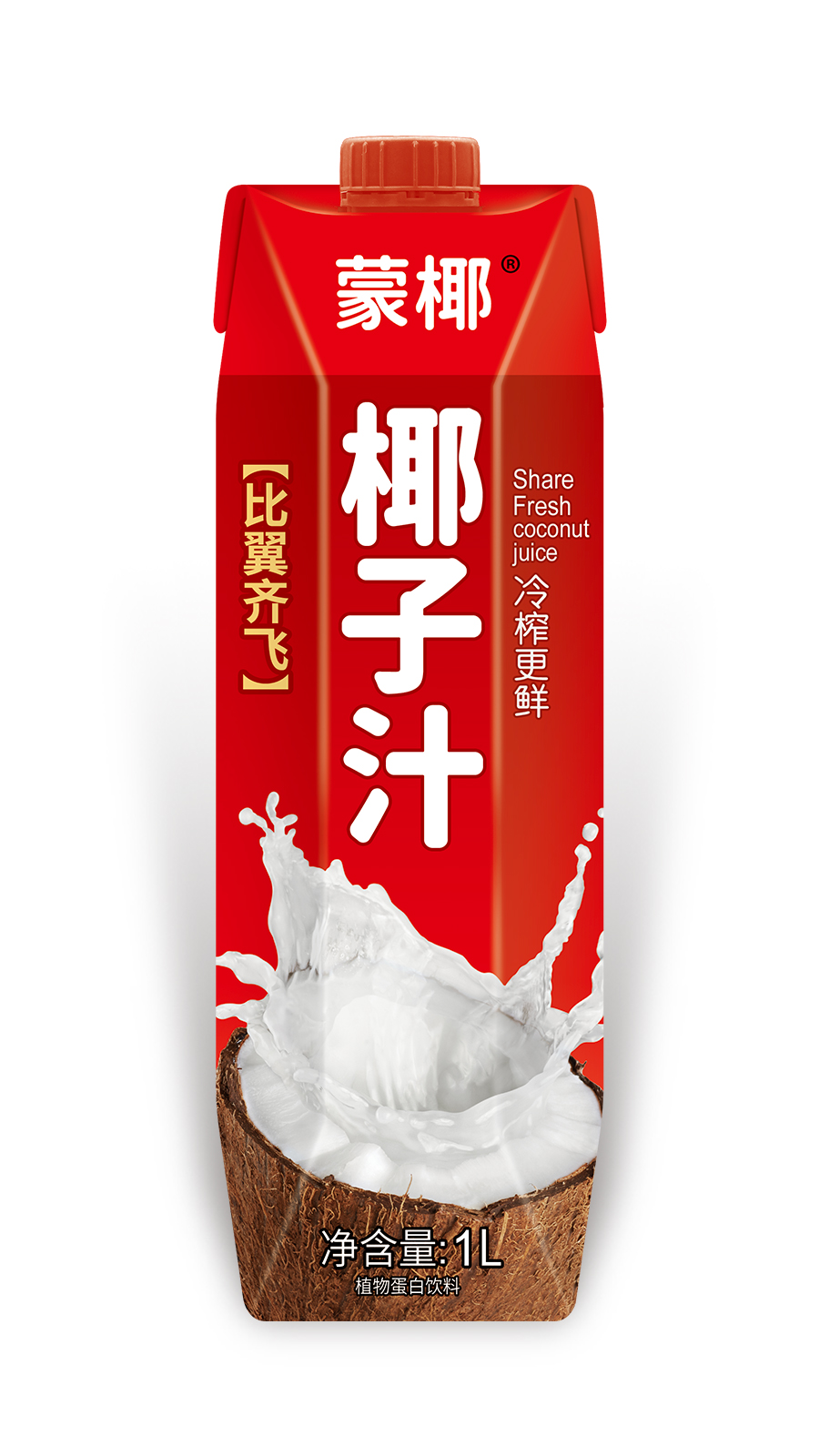 1L-蒙椰椰子汁