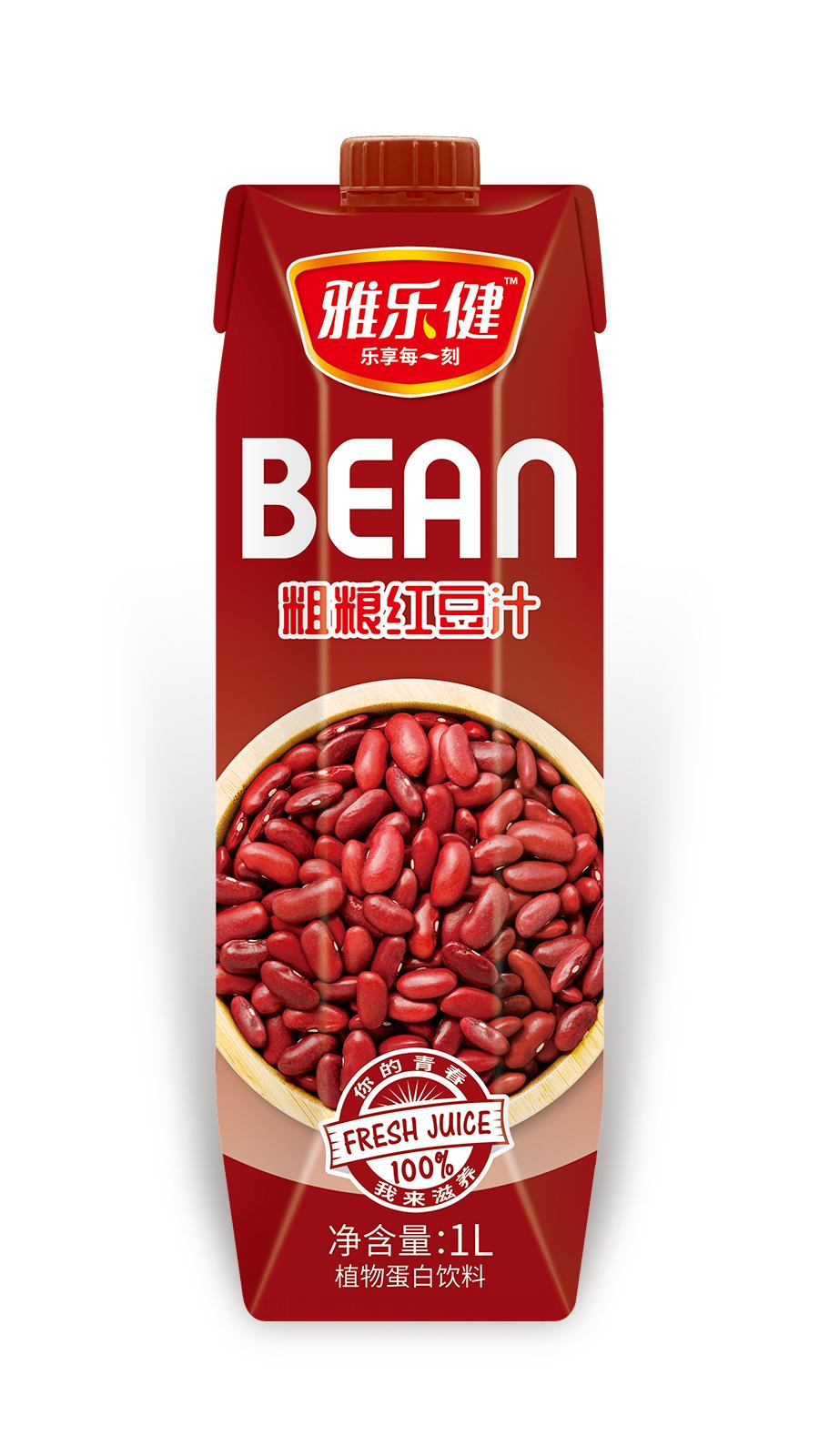 1L-雅乐健粗粮红豆汁