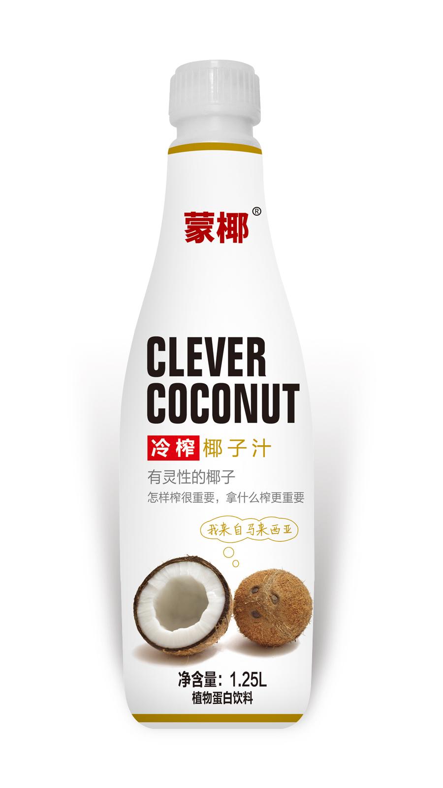 1.25L蒙椰 冷榨椰子汁