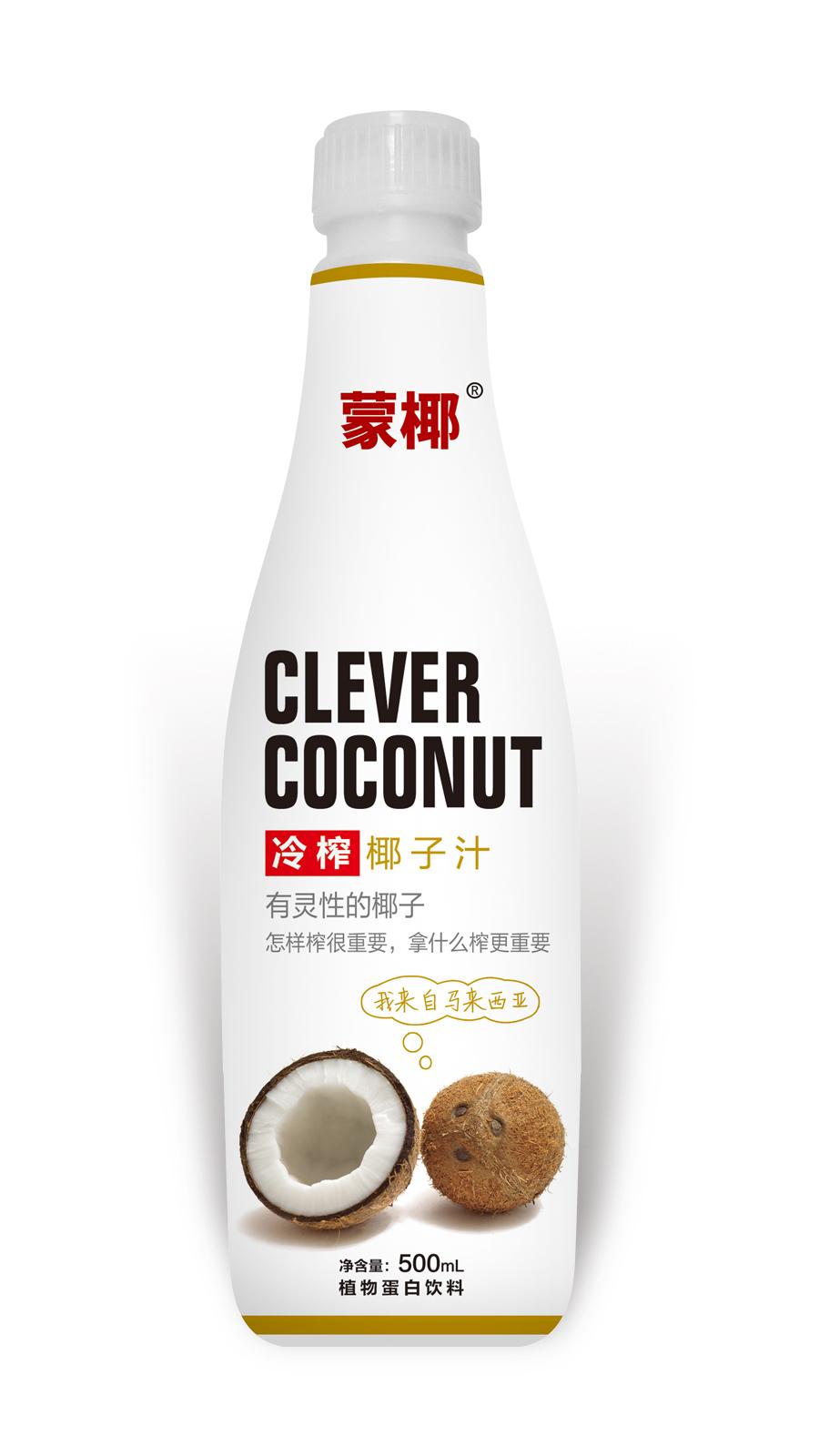 500mL蒙椰 冷榨椰子汁